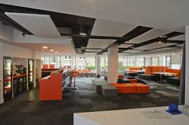 Creative Office Space Ideas Office Fashionable Office Space Design With Orange Office Bar