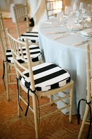 Black And White Striped Dining Chair Striped Dining Chair Cushions Aboutyou Space