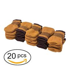 amazon com cuccu 20 pcs chair leg socks furniture sliders that