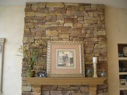 stone veneer fireplace surround dyi project palcro articles the