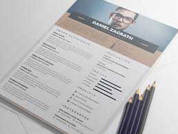 Resume Elegant Resume Templates by Free Elegant Resume Cv Template By Monsterlele Studio Dribbble