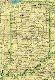 Indiana Illinois Map by