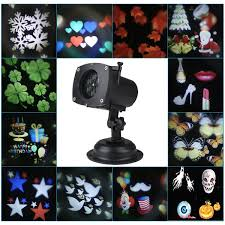 cheap best christmas landscape projector lights