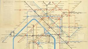 Map Of Paris Metro The Map That Never Was 1843