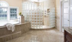 glass block designs for bathrooms glass block shower bathroom remodel waukesha wi schoenwalder
