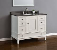 single sink vanity with drawers cambridge 42 white single sink vanity mission hills furniture