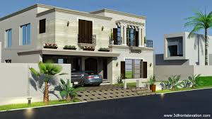 spanish style houses 3d front elevation com 1 kanal spanish house design plan dha