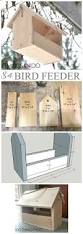 these free bird feeder plans make great kids u0027 woodworking projects