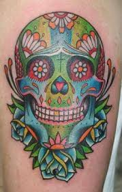 sugar skull tattoos and designs sugar skull tattoo meanings and