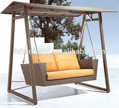 Swing Chair Patio Two Seater Garden Swing Chair Patio Rattan Wicker Two Seater