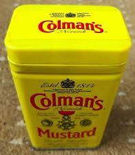 coleman s mustard colmans mustard tin ebay