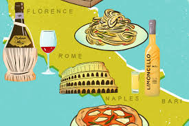 Capri Italy Map by Italy Food Map 16 Italian Foods And Drinks You Have To Try