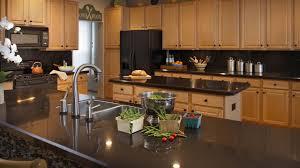 Kitchen Countertop Options by Countertops Kitchen Design Contemporary Ideas Black Granite