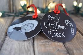 children s photo ornament personalized metal