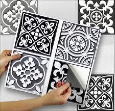 autocollant pour carrelage cuisine stickers pour carreaux de cuisine idées décoration intérieure