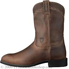ariats womens boots nz ariat s heritage roper boots roper toe distressed brown 10002284