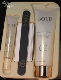 gold elements hand and nail care review set in lacquer