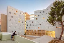 chambre universitaire marseille résidence universitaire lucien cornil a architecture