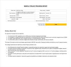 how to write a monthly report template 21 progress report template free sle exle format