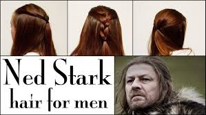 Name Of Mens Hairstyles by Game Of Thrones Hair Tutorial For Men Ned Stark Youtube
