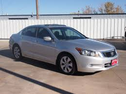 honda accord exl 2009 honda accord 2009 silver sedan ex l v6 gasoline 6 cylinders front