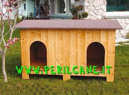 cuccia per cani da esterno tutte le offerte cascare a cuccia doppia in legno da esterno per coppia di cani tipo labrador