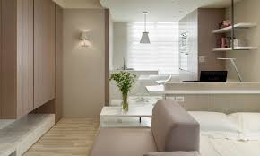 apartments divine kitchen studio apartment decoration using white