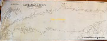 eldridge u0027s chart of long island sound newport to new york
