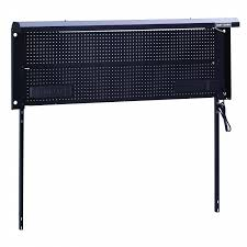 workbench with pegboard and light craftsman 6 metal workbench backwall shop your way online