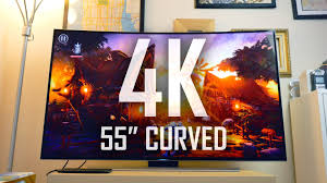 best curved tv black friday deals my first 4k curved smart tv is the curve worth it youtube