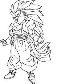 dragon ball z goku coloring pages getcoloringpages com