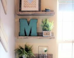 Wood Gallery Shelves by Picture Ledge Etsy
