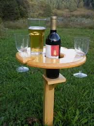 outdoor wine glass holder table outdoor wine glass holder