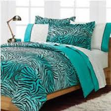 Cheap Zebra Room Decor by Teal Turquoise Blue And White Zebra Print Bedroom Ideas Bedding