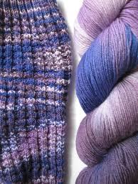 a bluestocking knits socks