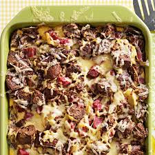 reuben strata recipe taste of home