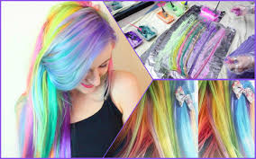 hair candy extensions rainbow candy hair extensions
