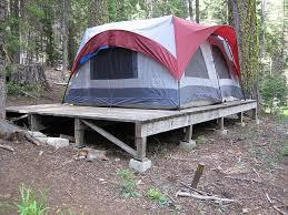 tent platform put the tent up on a platform cers pinterest tents