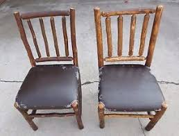 Hickory Dining Room Chairs by 2 Old Hickory Dining Room Chairs Local Pickup Only Los Angeles