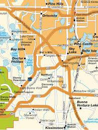 Orlando International Airport Map by