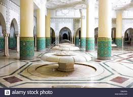 interior arches and mosaic tile work hammam turkish bath in