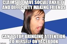 Girls On Facebook Meme - annoying facebook girl imgflip