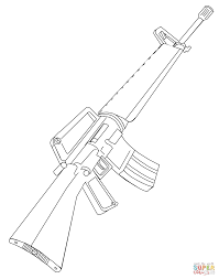 incredible army guns coloring pages printables with gun coloring