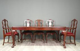 chippendale table complete set furnitures