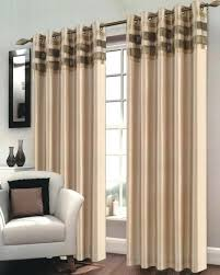 Brown Gold Curtains Brown Striped Curtains Ready Made Gopelling Net