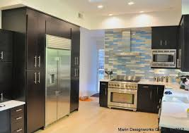 Kitchen Backsplash Modern Kitchen San Francisco By Marin - Kitchen modern backsplash