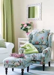 Armchair With Footrest 20 Timeless And Chic Floral Print Upholstery Ideas Shelterness