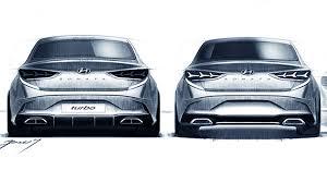 2018 hyundai sonata sedan teased showing fresh new aggressive