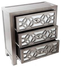 Mirrored Dressers And Nightstands Glam Slam Mirrored Dresser Contemporary Dressers By Gwg Outlet