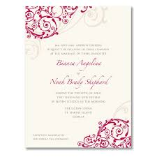 online marriage invitation wedding invitation designer online rectangle potrait pink floral